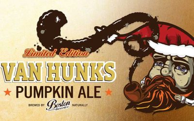 Van Hunks Pumpking Ale | Limited Edition | Boston Breweries