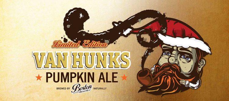 Van Hunks Pumpking Ale | Limited Edition | Boston Breweries
